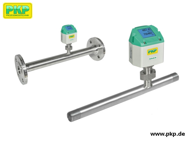DB51 Compact Thermal Mass Flowmeter and Couner for Compressed Air and Non-Aggressive Gases