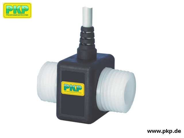 DR03 Turbine flowmeter, all-plastic design