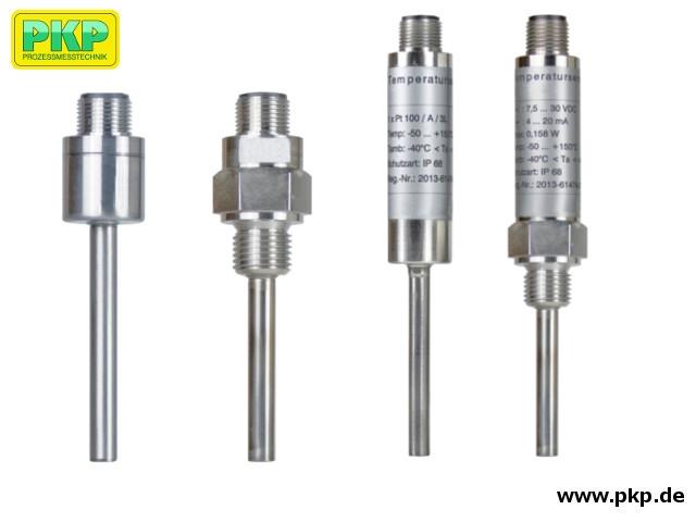 TFK03 Kompaktes Widerstandsthermometer (Pt100) mit Rundsteckverbinder M12x1
