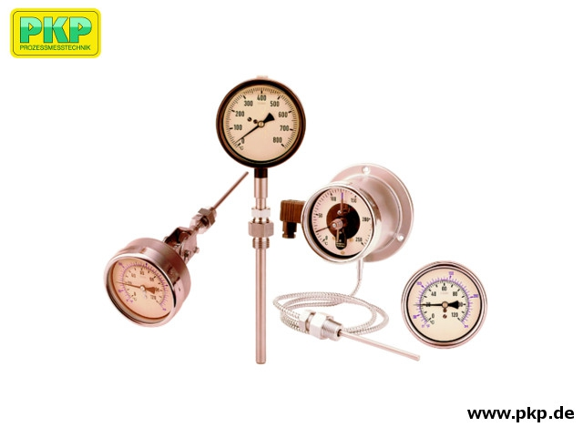 TZ04 Nitrogen filled dial thermometers